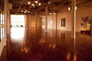 empty gallery space