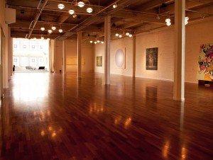 empty gallery area